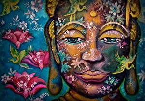 ZORBA Lace on canvas