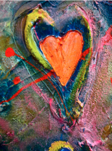 ORANGE HEART SOLD