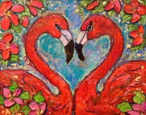 Flamingo Lovers FOR SALE $495