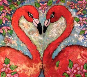 Flamingo Lovin SOLD