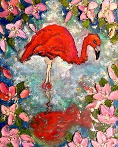 Flamingo Bloom SOLD