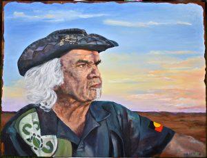 Marbk 95cm x 75cm Oil on canvas $2500